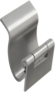 Monroe manufactures custom formed hinges