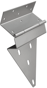 Monroe manufactures custom gate hinges