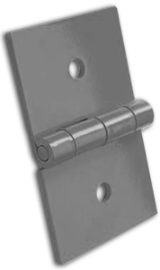 Monroe manufactures custom havey duty hinges