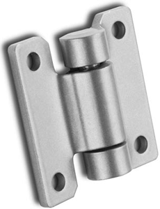 Monroe manufactures custom weld-on hinges